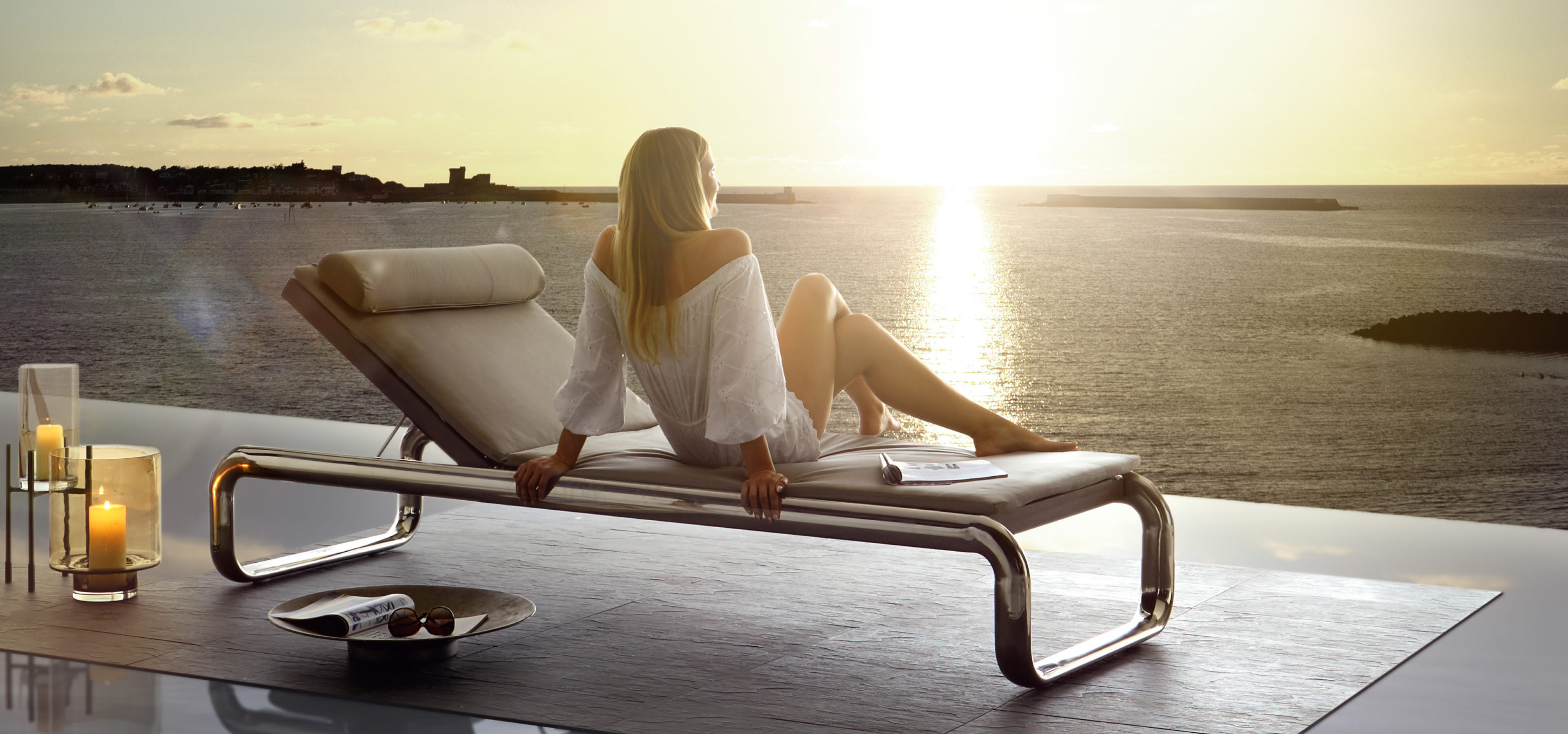 H2K garden lounger exclusive for your perfect relaxation